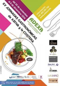 cartel_gastronomicas Adexa_0